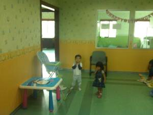 ruang asuh bayi/ day care PLN Pusat
